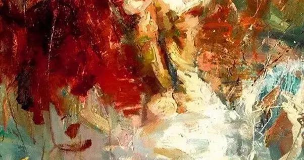 当代青年画家亨利·阿森西奥如情似火现代油画作品欣赏