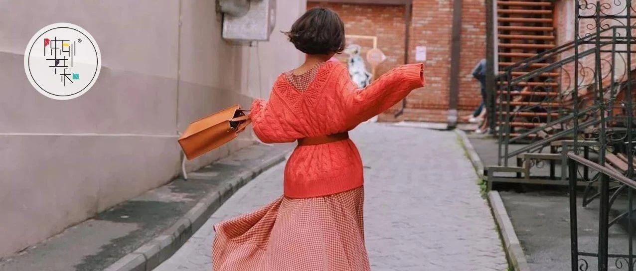 回家过年穿大毛衣+半裙,做最时髦、最有品味的女人!