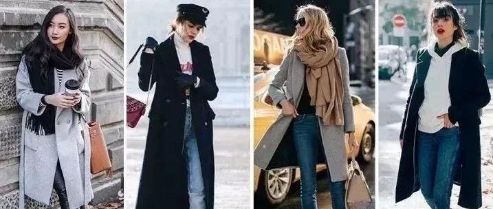 大衣里面穿什么才最有型?6大内搭套路让你时髦温暖一冬天!!