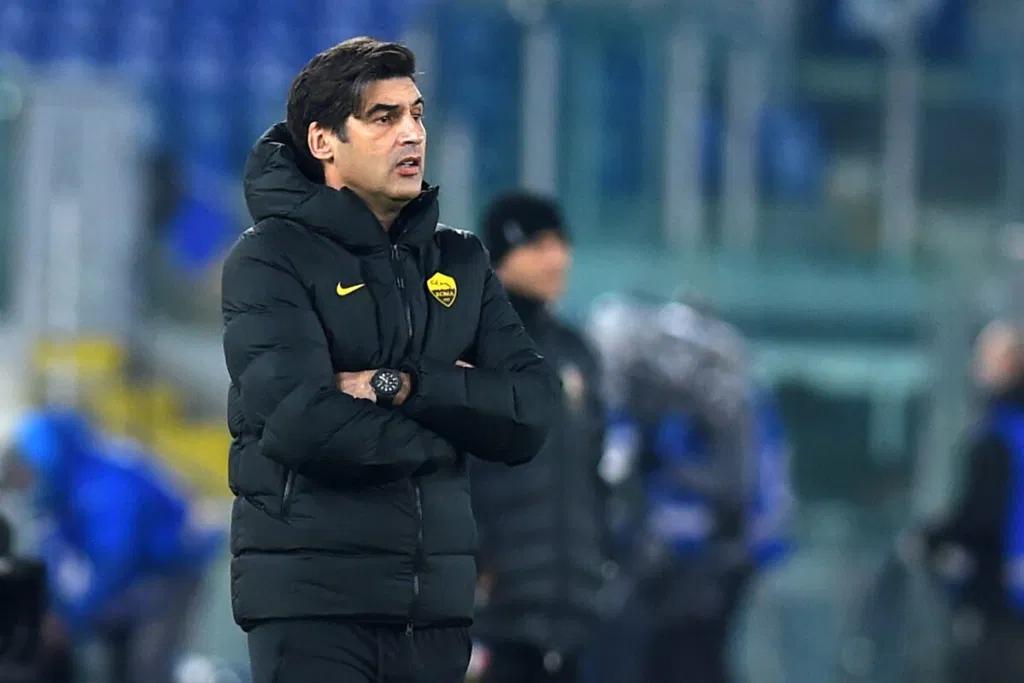 官方:罗马因比赛中6次换人违规,被判0-3负于斯佩齐亚
