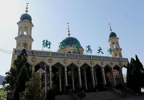 伊斯兰阿拉伯式建筑,青海第二大清真寺,街子清真大寺
