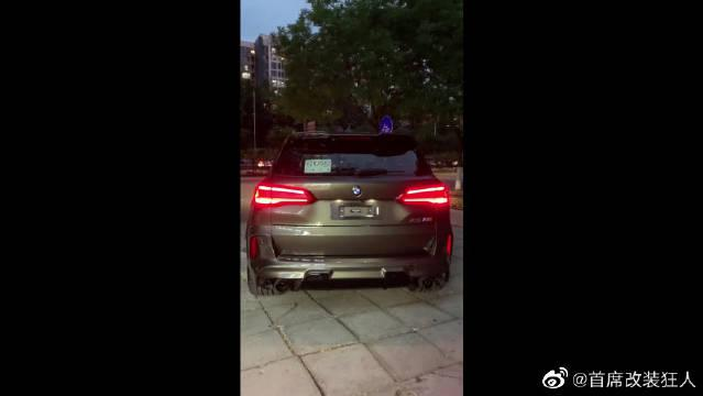 SUV中的性能车型,全新宝马X5M,超跑都怕它!