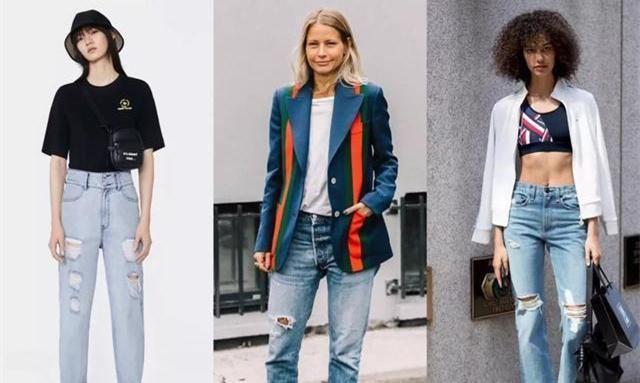女性穿牛仔裤,选择这样穿没错,特别适合春夏季的搭配