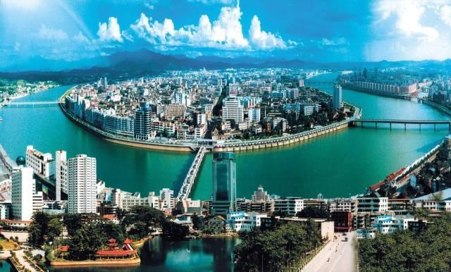 """梅州一个""""心酸""""县城,位于韩江中上游,经济发展却不容乐观"""