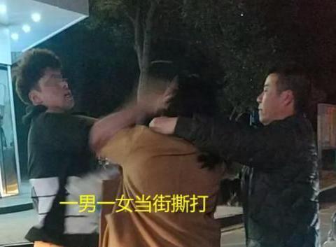 浙江发生一起事件:因路窄互不相让,一男一女口水战后,当街厮打