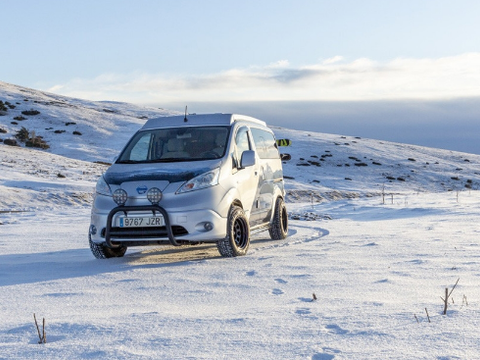日产推出冬季露营概念车,续航200km,这个续航够用吗?