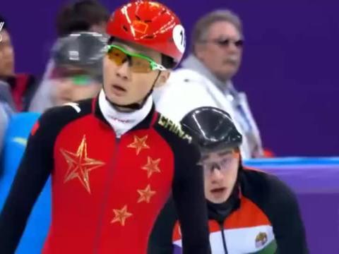 冬奥会短道速滑500半决赛,任子威刷新奥运记录,晋级半决赛!
