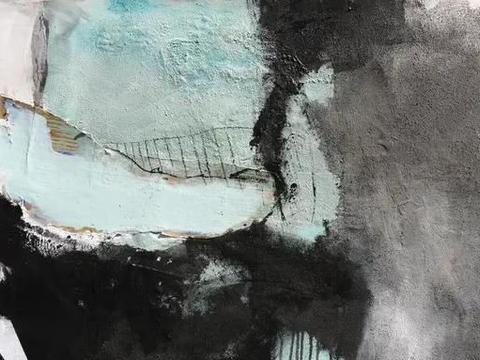 德国艺术家丹妮拉·施韦因斯伯格抽象绘画作品