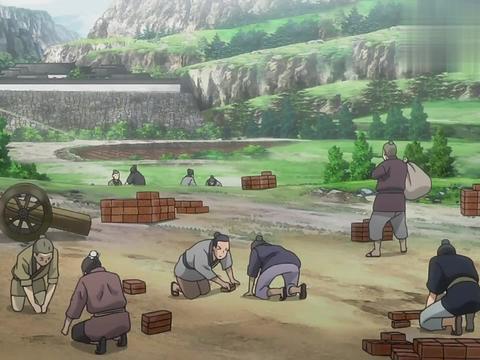 从前有座灵剑山:村民们情绪激动,手拿着武器,这是要打架啊