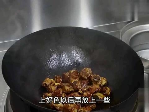 """大厨分享""""糖醋排骨"""",色泽红亮,酸甜适口,值得一试"""