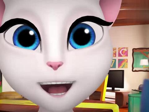 会说话的汤姆猫:安吉拉爱上这个游戏了,独角兽真特别!