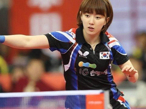她是韩国乒坛的第一美女,示爱马龙给樊振东当陪练,32岁仍单身