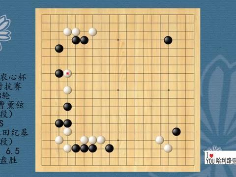 2021年农心杯传奇对抗赛第3轮,曹薰铉VS依田纪基,黑中盘胜