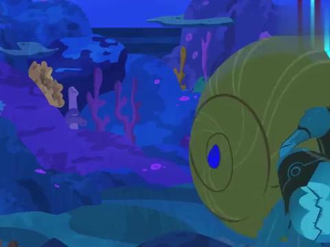 寄居蟹按照从大到小排列的,动物兄弟觉得这很酷