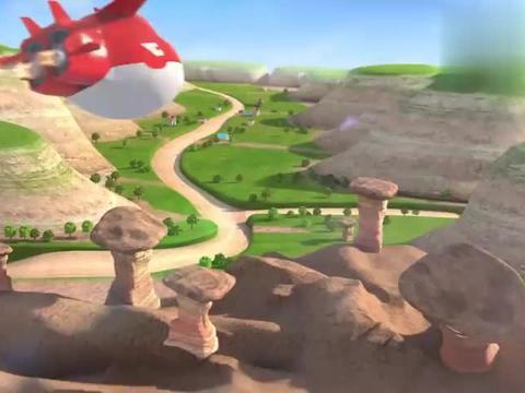 贾斯汀有新发现,跑去后院寻宝,挖出恐龙化石