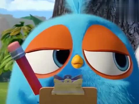 愤怒的小鸟:好萌的小鸟宇航员,你们一定可以的