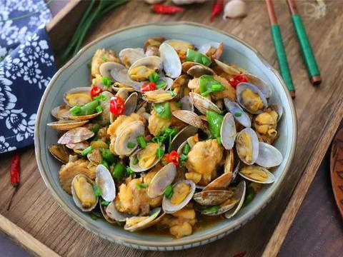 这小海鲜最肥美,教你特色做法,鲜嫩入味,下酒又下饭