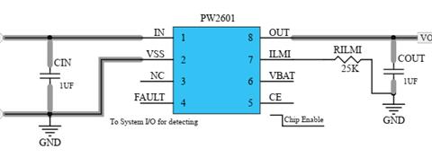 过压保护IC和带LDO模式的Li+充电器前端保护IC