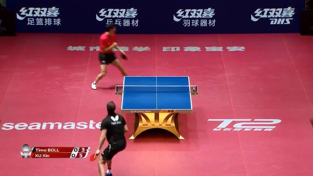 2019年中国公开赛1/4决赛,许昕vs波尔……