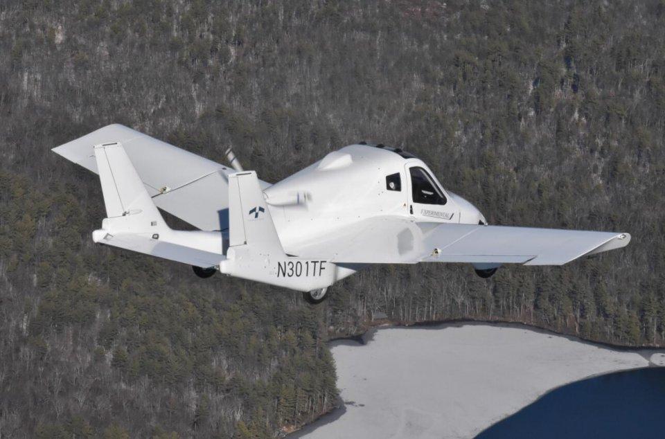 吉利科技旗下陆空两用飞车获FAA史上第一张飞车适航证!