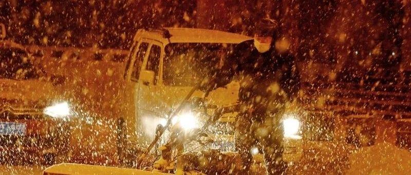 大雪暴雪报到,狂刷存在感!