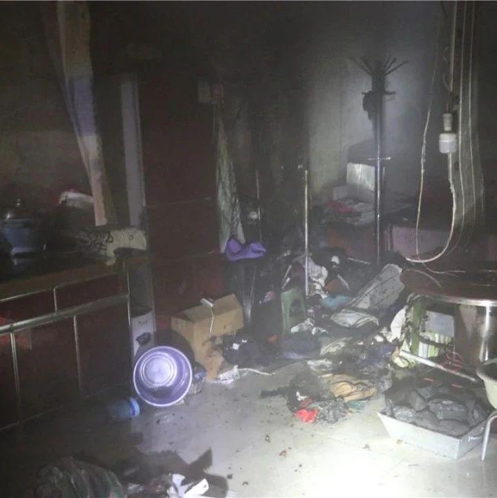 【社会】固原一居民房屋深夜起火,竟是电热毯惹的祸…