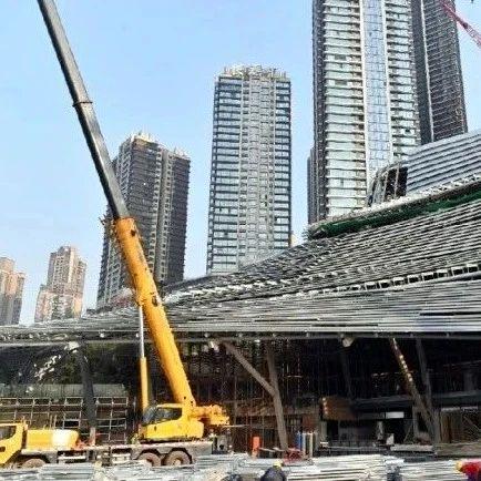 重庆城市规划展览馆主体工程已经完成