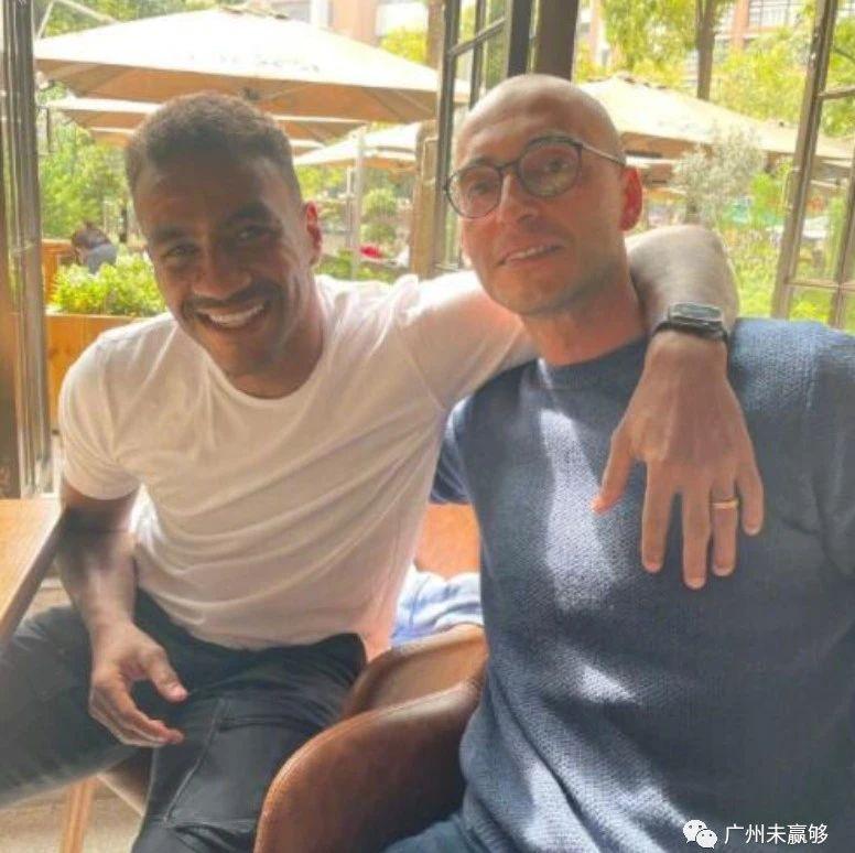 穆里奇重回广州,与恒大老友相聚