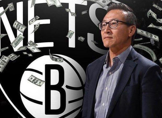 19年蔡崇信24亿买下篮网,现在赚了多少钱?球迷:太逆天了