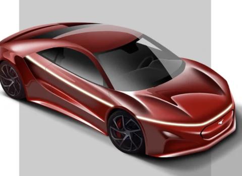 纯电动福特Mustang渲染图 或2029年上市