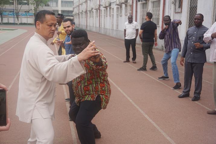 外交学院周庆杰:中华武术文化的对外传播者