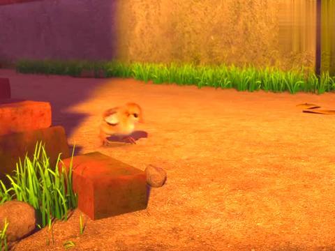 天天成长记:东东发现小鸡,阳阳要和大家玩,真正的老鹰捉小鸡
