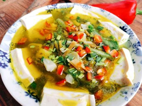 苋菜干汤蒸豆腐飘香十里,制作方法简单,是减肥人士的福音