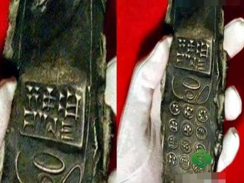 男子海底潜水捡到疑似洛基亚手机, 细看按键后却是这样的画面