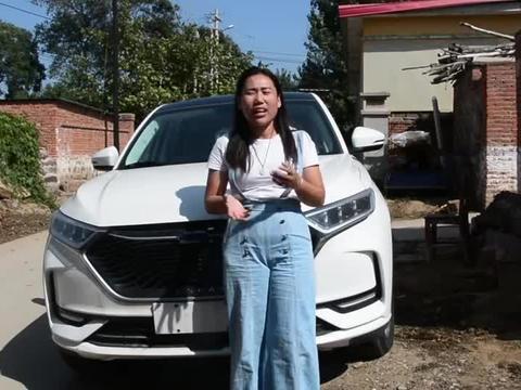 农村姑娘9万元喜提长安欧尚X7一台,家人看车后都是什么评价?