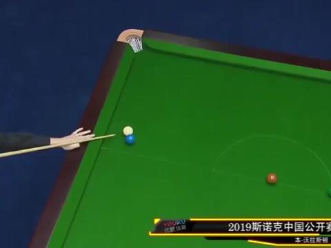 2019斯诺克中国公开赛十佳球:冠军罗伯逊三杆入选,实至名归!