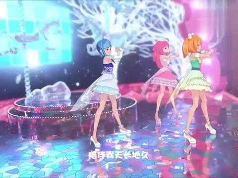 菲梦少女:好炫酷的舞台,还能变装,可星赚足了风头!