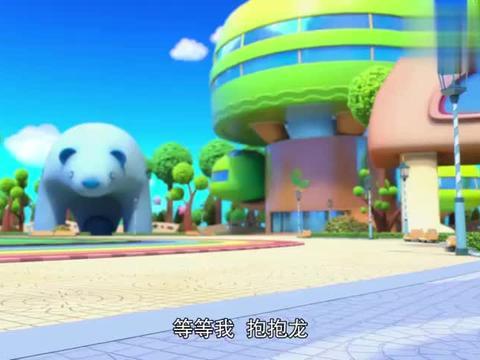 百变校巴:球球想吃水果饼干,学会卖萌了,小茜不吃这一套!