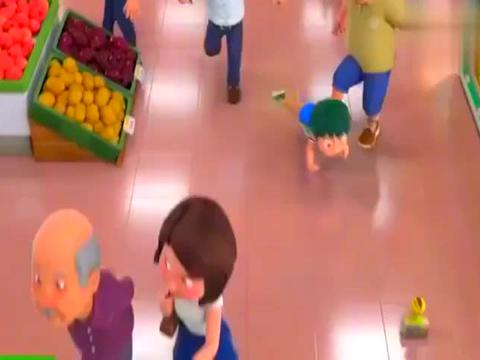 萌鸡小队:麦奇被人抓到了,幸亏小德及时出现救了小鸡麦奇!