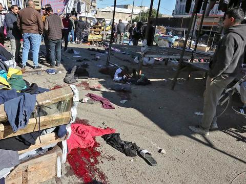 """巴格达发生连环爆炸,这就是美国留给伊拉克的""""礼物"""""""