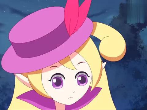 小花仙:蔷薇花仙挡在薇薇安身前,抗住花神攻击,誓死守护主人!