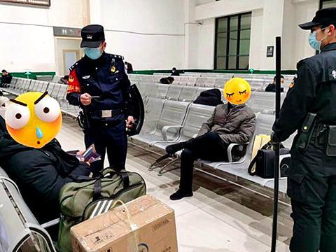 重点人员重点排查 绥德铁路公安保平安不留死角