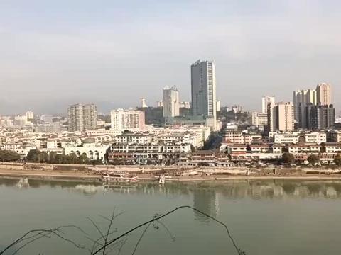 川陕甘结合部的广元老城区