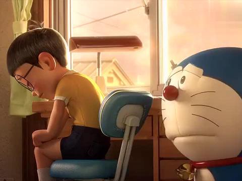 哆啦A梦:知道哆啦A梦要离开,大雄很难过,早晚都要说再见啊