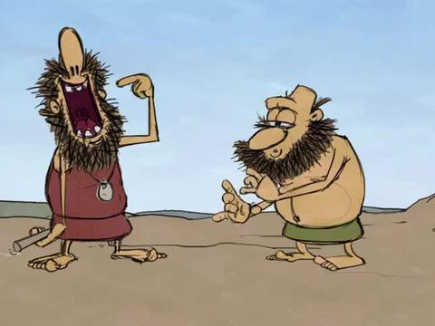 疯狂原始人:心疼小松鼠一秒钟,被野人当笛子吹,还是从菊花那