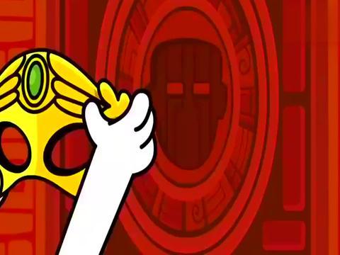 萌萌兔用魔法改变门锁的形状,于是密室大门,轻松被打开了!