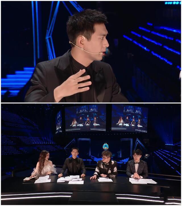 充当电竞评论员的李现秒变韩商言,出镜的手太抢镜