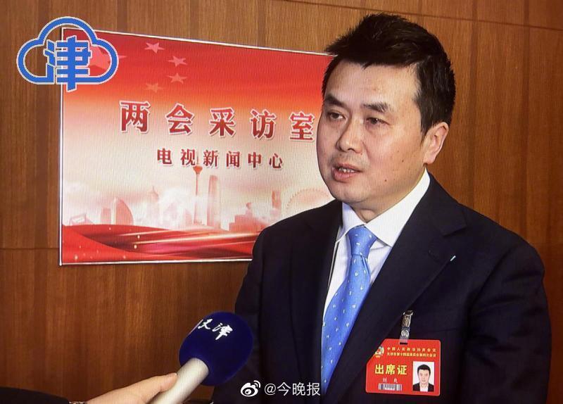 天津市政协委员刘爽:天津的发展很提气 愿成为两地青年人的桥梁