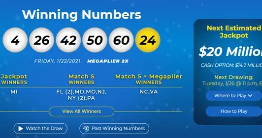 史上第三大 美国开出68亿元超级彩票大奖:能领29年