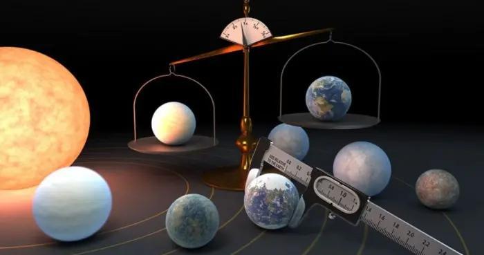 新研究发现红矮星TRAPPIST-1七颗类地行星拥有相似密度